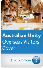 Australian Unity Overseas Visitors Health Cover